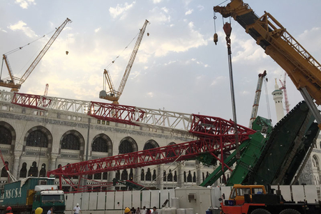 Saudi court orders new trial for 2015 crane crash