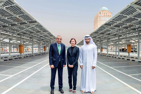 Dubai's Mall of the Emirates car park gets solar retrofit