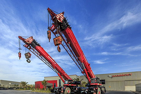 Mammoet adds 35 cranes to its Middle East fleet