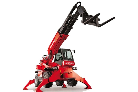 Manitou launches rotating telehandlers with expanded capabilities
