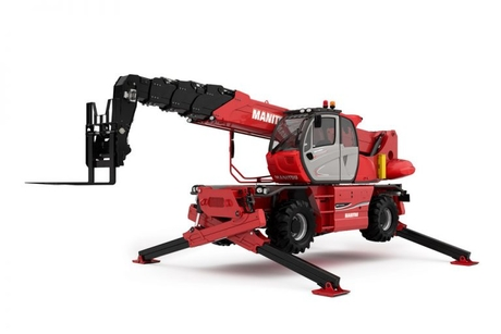 Manitou unveils world's highest capacity rotating telehandler