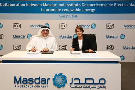 Masdar pens clean energy Costa Rica deal