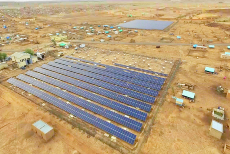 Masdar solar plants in Mauritania 50% complete
