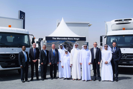 Mercedes-Benz Atego, Accelo trucks arrive in UAE