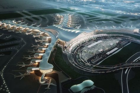 New $3bn Abu Dhabi airport building hits milestone
