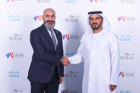 Cisco, Miral sign deal to enhance Yas Island's digital offerings