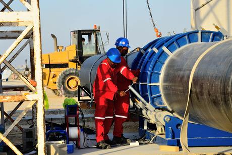 Oman: Muna Noor opens pipe, valve centre in Muscat