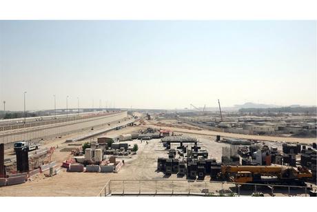 Abu Dhabi's $184m airport interchange 68% complete