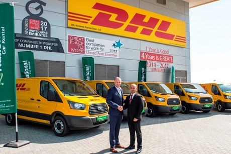 DHL Express introduces Ford Transit vans to its fleet