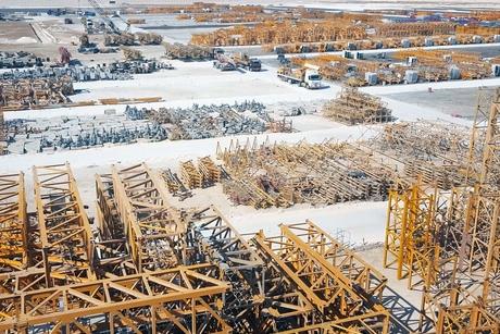 NFT unveils huge Abu Dhabi storage yard for 1,800 tower cranes
