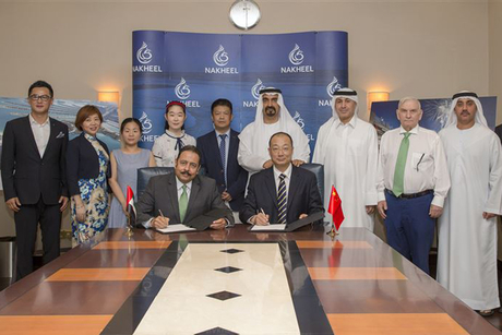 Chinese firm wins $18m Nakheel deal to build Palm Jumeirah fountain