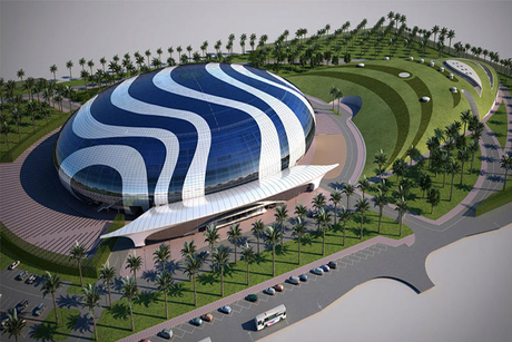 Dubai's Nad Al Sheba Arena on completion track