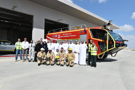 New fire station opens at Abu Dhabi's Midfield Terminal