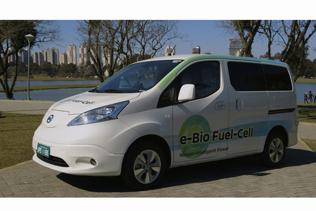 Nissan unveils first solid-oxide fuel cell vehicle