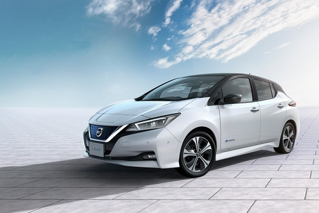 Nissan joins Japan utility to promote all-electric Leaf
