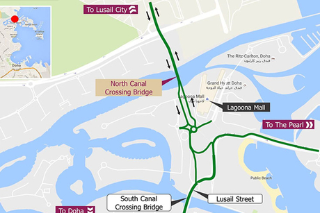 Ashghal opens part of North Canal Crossing Bridge