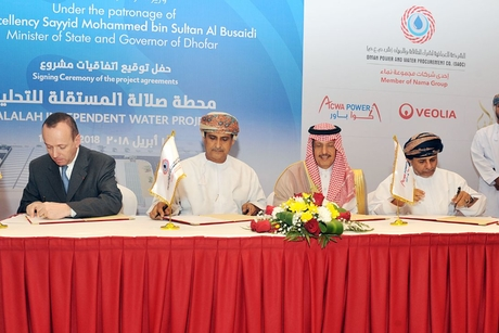 OPWP signs deals for Oman's $156m Salalah water desalination plant