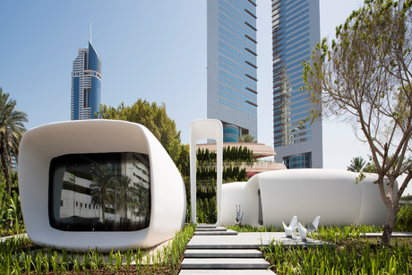 Dubai: BASF's chemicals for 3D-printed office