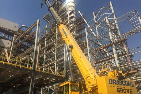 Egypt's Orascom buys 24 Grove rough-terrain cranes