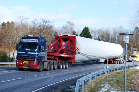 Mammoet delivers the tallest wind turbine in the world