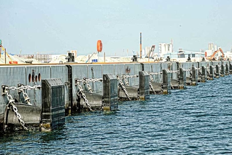 Quay works underway at Kuwait-China refinery project
