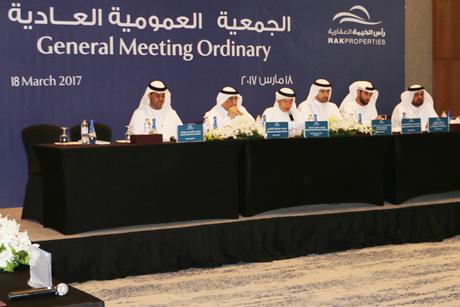 RAK Properties authorises 5% cash dividend at AGM