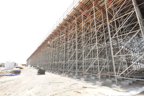 Case study: Formwork for Abu Dhabi-Dubai highway