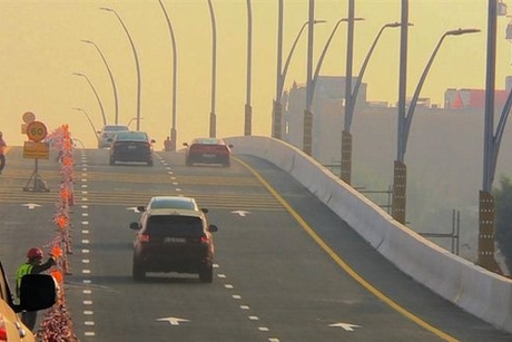RTA opens first two lanes over Dubai Canal bridge