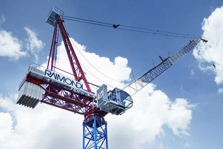 Raimondi Cranes delivers first LR213 luffing units