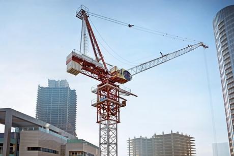 In Pictures: Raimondi's luffing jib crane climbing setup at Hydra Avenue