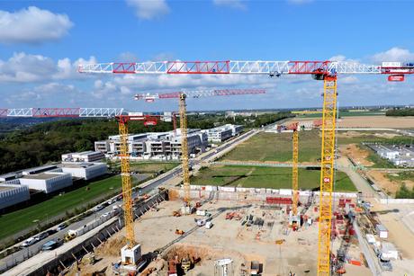 Saudi-owned Raimondi supplies six cranes for French uni project