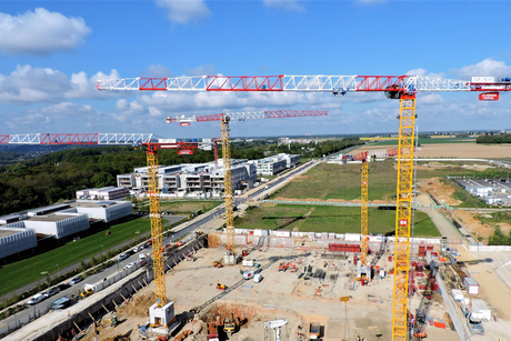Saudi-owned Raimondi supplies six cranes for French uni project