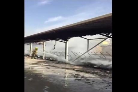 Dubai: Fire contained at Arabian Ranches Golf Club