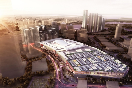 Reem Mall progressing on track, substructure nearly complete