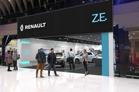 Renault to open first EV concept store in Swedish mall