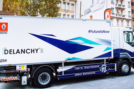 Renault to sell electric trucks in 2019