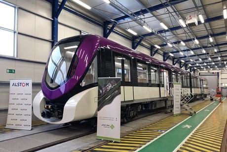 Alstom completes first Riyadh Metro train units