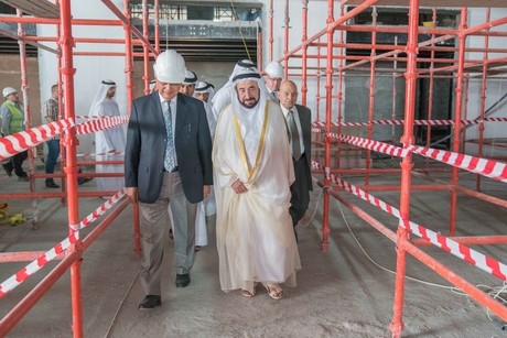 Works on Sharjah Academy of the Performing Arts progressing