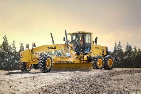 SDLG launches variable power motor graders in Middle East