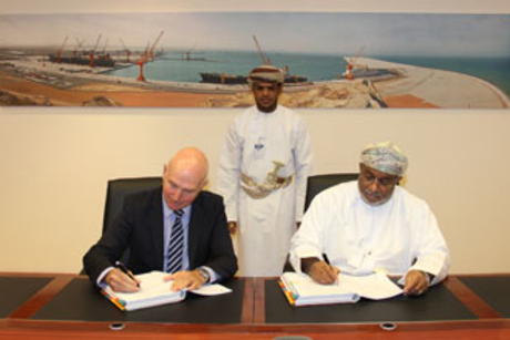 Oman's SEZAD inks $517m contract with Boskalis Westminster