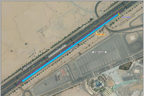 RTA begins maintenance works on Sheikh Zayed Road