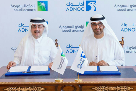 Saudi Aramco inks MoUs with ADNOC and Masdar