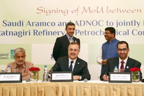 ADNOC, Saudi Aramco ink deal for $44bn mega refinery in India
