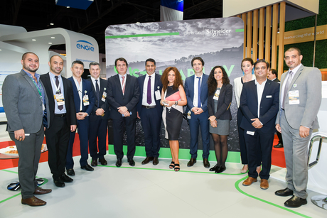 Schneider Electric showcases energy-efficient grid at WETEX