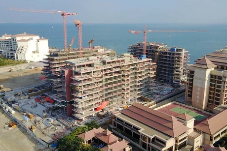 Palma completes Serenia Residence structural works