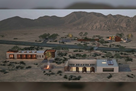 Sharjah body completes 60% of Fossil Rock Lodge project