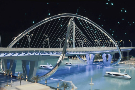 In Pictures: Dubai Ruler unveils $107m Shindagha Bridge project