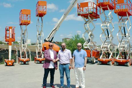 Turkish rental firm orders 35 AWPs from UK-based Snorkel