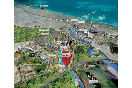 Dubai: 1,300sqm plots open for Water Canal homes