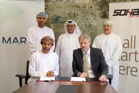 Marafi Sohar signs two-phase Oman port terminal pact